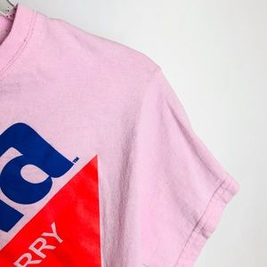 Coca Cola Tops - Cool Fanta Pink Crop Top